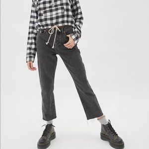 BDG High-Waisted Slim Straight Mineralized Jeans